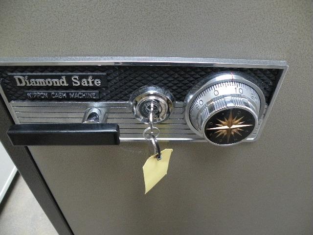 Sleutel- en cijferslot inkl. 2 sleutels